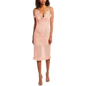 C/Meo Collective Outline Sherbert Lace Midi